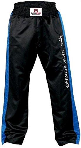 DanRho Satinhose KICK BOXING schwarz-blau 180