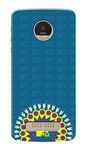 MTV Gone Case Mobile Cover for Motorola Moto Z Play
