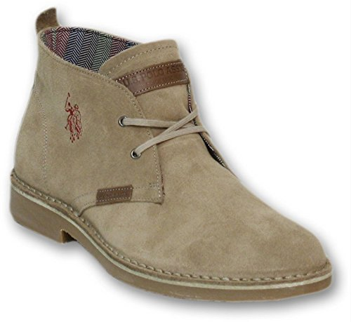 US Polo Association Amadeus6 Suede, Stivali uomo marrone Size: EU 40