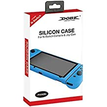 New World Silicone Case Cover Grip Skin For Nintendo Switch Console And Joycon (Blue)