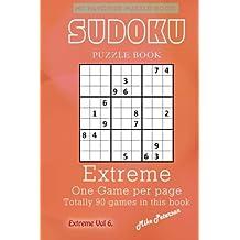 Sudoku Puzzle - Extreme - Vol 6 - My Favorite Puzzle Book: Volume 51 (My Favorite Puzzle Book - Sudoku)