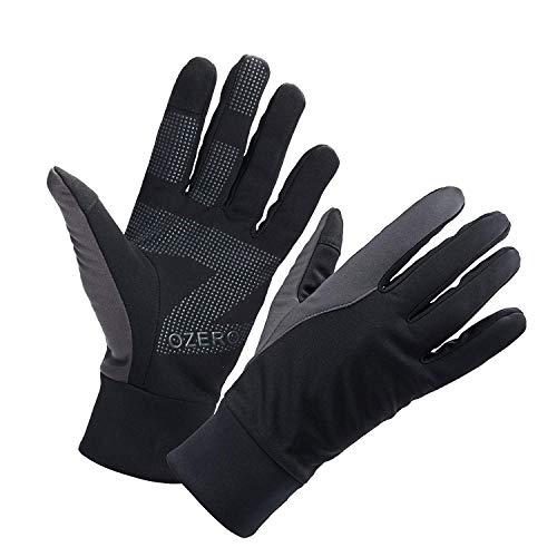 OZERO Touchscreen Winterhandschuhe, Thermo Fahrradhandschuhe & Laufhandschuhe für Herren und Damen