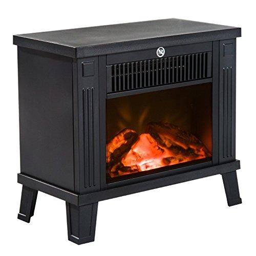 Homcom--Chimenea-elctrica-de-suelo-Diseo-moderno-600-W1200-W-de-potencia-con-efecto-llama-Medidas-345-x-17-x-31-cm-Color-negro