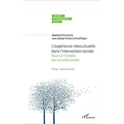 L'expérience interculturelle dans l'intervention sociale: Essai sur l'invisible des minorités visibles (Recherche et transformation sociale)