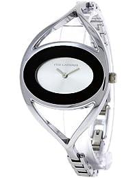 Ted Lapidus - B0212RBNX - Montre Femme - Quartz Analogique - Cadran Argent - Bracelet Métal Argent