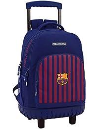 FC Barcelona 611829818 2018 Mochila Escolar, 45 cm, Azul