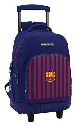 FC Barcelona Mochila Grande con Ruedas Carro Fijo