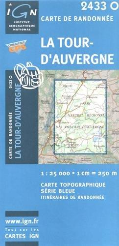 La Tour-d'Auvergne: IGN2433O par IGN