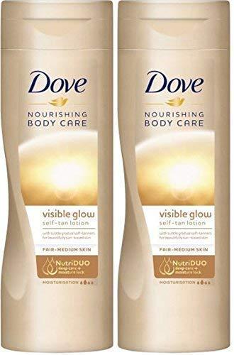 Loción de cuerpo Summer Glow Gradual de Dove