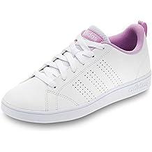 adidas VS ADVANTAGE CLEAN K - Zapatillas deportivaspara niños, Blanco - (FTWBLA/FTWBLA/ORQCLA), 5