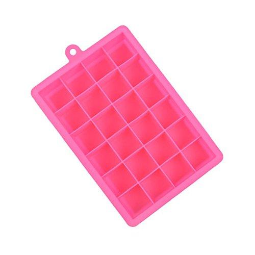 1PCS aloiness Eiswürfelform Pralinenform Schokoladenform aus Silikon für Eiswürfel, Schokolade usw.