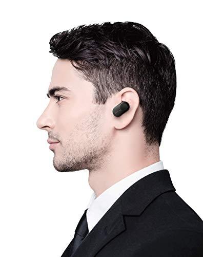 Sony WF-1000XM3 True Wireless Noise Cancelling Kopfhörer (bis zu 32h Akkulaufzeit, stabile Bluetooth Verbindung, Amazon Alexa, komplett kabellose Earbuds incl. Ladecase) schwarz - 11