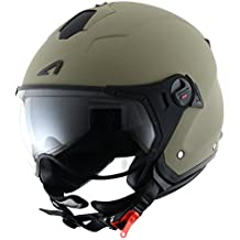 Astone Helmets Casco Jet Sport Mini, color Matt Army, talla M