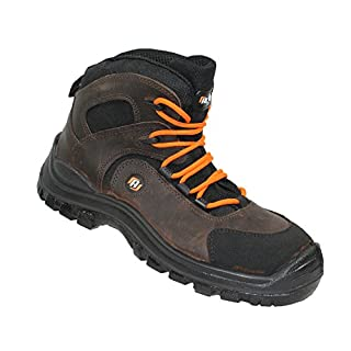 Auda Men's Classic Lace-Up Half Shoe Brown Size: 13