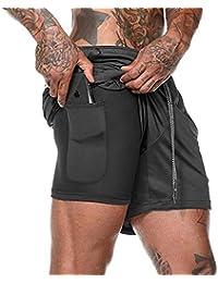 Amazon.es: Pantalones cortos deportivos - Ropa deportiva: Ropa