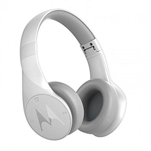 Motorola Pulse Escape Wireless Bluetooth Headphones (White)
