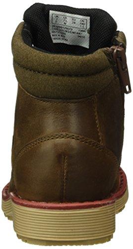 Clarks Kids Day Hi Gtx Inf, Bottes Classiques Garçon Marron (Brown Leather)