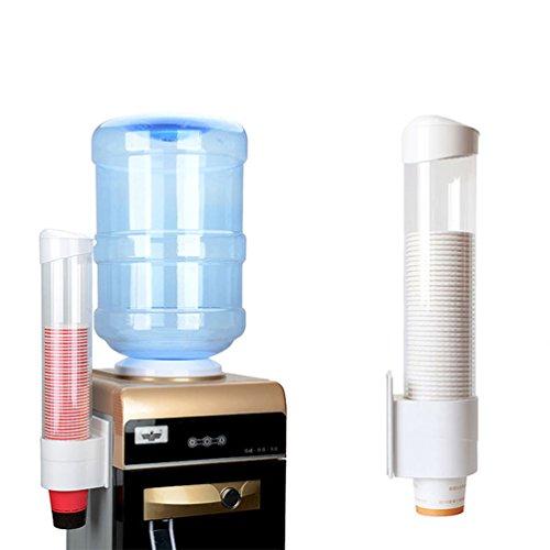 Taza dispensador de protección del medio ambiente para vasos de plástico desechables copa Holder Oficina Hospital Home