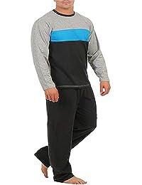 Herren Pyjama,Schlafanzug, Baumwolle