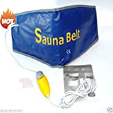 #10: Flying bird Sauna Slim Belt Magnetic Vibration Slimmer (Blue , orange) (Blue)