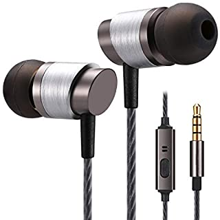 Betron KRT-E90 Noise Isolating Bass Driven Earphones with Mic for iPhone, iPad, iPod, Samsung, Nokia, HTC, Mp3 Players