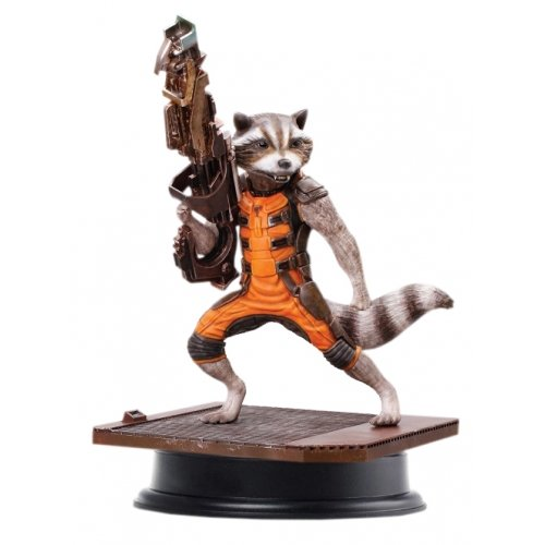 Dragon Models - Dm38130 - Figurine Cinéma - Rocket Racoon - Action Vignette - Echelle 1/9