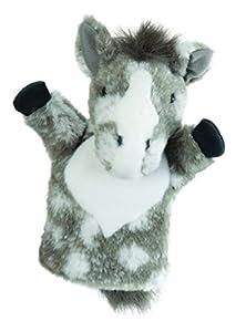 Deb Darling Designs - Grey Horse Mano de Marionetas