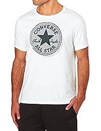 Converse 03386 Micro Dot Half Sleeve T-Shirt - White