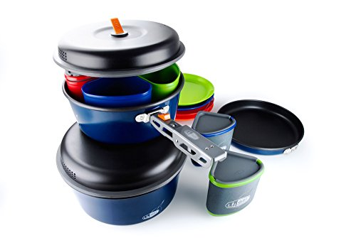 GSI Outdoors - Bugaboo Camper, Nesting Cook Set, Superior Backcountry Cookware Since 1985
