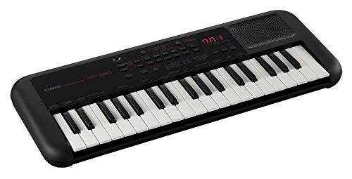 Yamaha PSS-A50 Keyboard, schwarz - Transportables High Quality Mini Keyboard mit großartigem Sound und tollen Effekten - Leichtes Keyboard mit USB-MIDI Verbindung & Mini-Kopfhöreranschluss