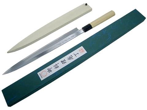 Couteau Japonais de Chef Professionel Sanetatsu Modele Yanagiba (300mm)
