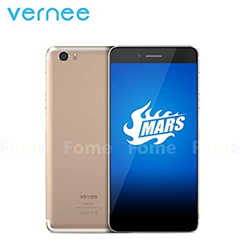 Vernee Mars smartphone 4G LTE FDD-3G WCDMA Android 6.0 OS MT6755 Octa Core 5