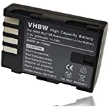 vhbw Batterie Li-Ion Lot de 2000mAh (7.2V) pour appareil photo Panasonic Lumix GH4, DMC-gh4r comme de type blf19, DMW blf19e.
