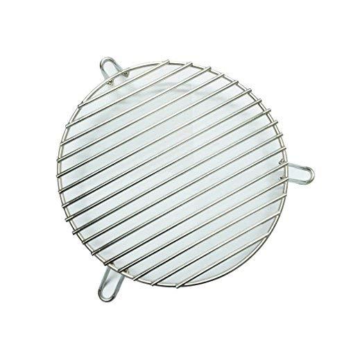 Broilmann Edelstahl Doppelfunktion indirekte Kochen Rack für 18-inch-Diameter Grillroste -