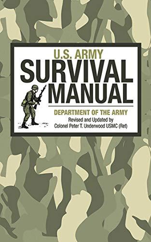 U.S. Army Survival Manual (Special Forces Survival Messer)