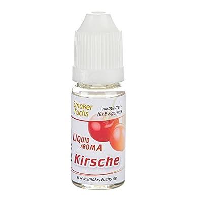 3x 10ml Smokerfuchs E-Liquid - KIRSCH - VANILLE - ERDBEER - 0,0mg Nikotin - für alle elektronischen Zigaretten von SmokerFuchs®