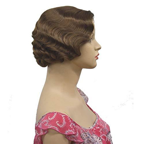 COOLHAIR 1920er Flapper Frisuren für Frauen Finger Wave -