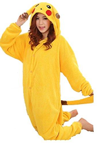 Pikachu Pyjama - Wärmender Flanell Onesie