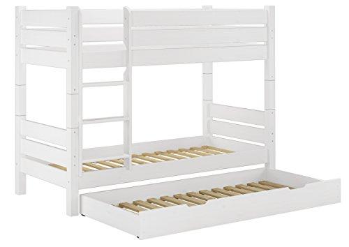 Etagenbett Metall Teilbar : ᑕ❶ᑐ etagenbett weiß ▻ bestseller für ihr schlafparadies ✓das