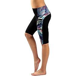 Munvot Mujer Leggins y Mallas de Cintura Alta para Yoga,Pilates,Fitness y Running