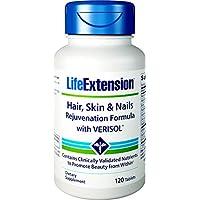 Life Extension - Fórmula de rejuvenecimiento para el pelo, la piel y las uñas con