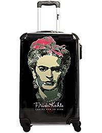 Ikase Frida Kahlo, Sac à main pour femme Vert Verde 61 CM