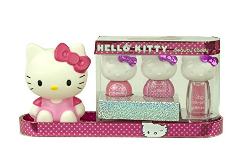 Hello Kitty 9450910 Kosmetik Sammelbox, 1er Pack (Kinderschminke)