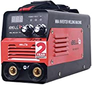 iBELL Inverter ARC Welding Machine (IGBT) 220A with Hot Start, Anti-Stick Functions, Arc Force Control - 2 Yea