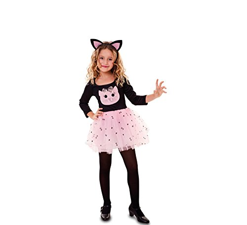 Fyasa 706536-t00 Cat Fancy Dress Kostüm, pink, - Cat Fancy Dress Kostüm Anzüge