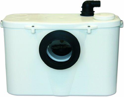 SANIPRO sanisan Toiletten-entsorgungseinheit auf Ständer weiß
