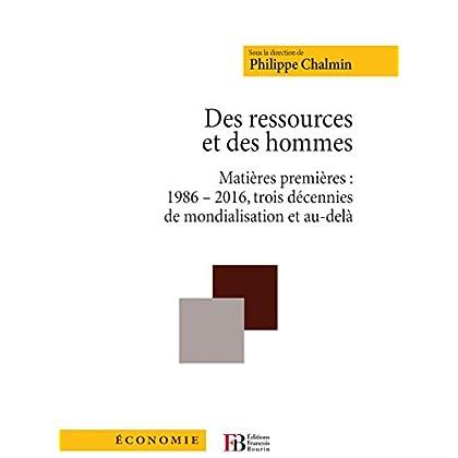 Des ressources et des hommes