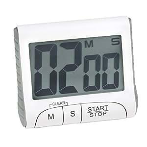 Time Minuteur électronique Blanc - Alinea 8.0x1.5x4.5.