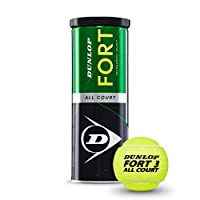 DUNLOP D Tb Fort All Court Ts 3Tin - Yellow