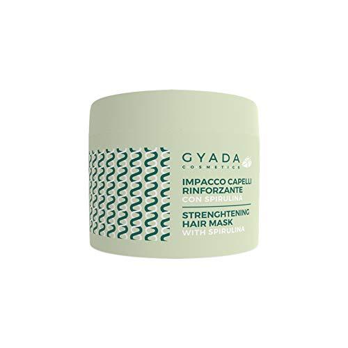 Gyada Cosmetics IMPACCO CAPELLI RINFORZANTE CON SPIRULINA CERTIFICATO BIO MADE IN ITALY 250 ml